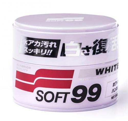 SOFT99 White SOFT Wax syntetic tvrdý vosk 350 g