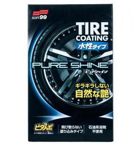 SOFT99 Water-Based PURE SHINE ochrana pneu 100 ml