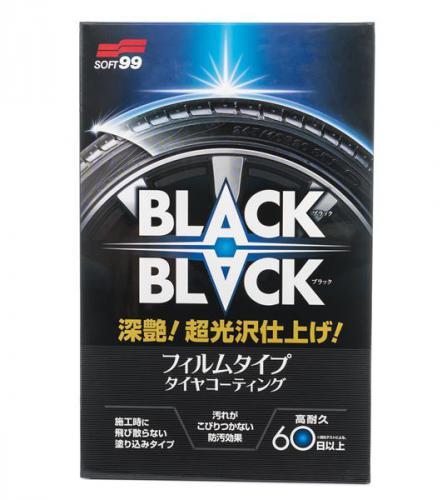 SOFT99 BLACK BLACK ochrana pneu 110 ml