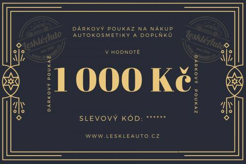 Dárkový poukaz v hodnotì 1000 Kè