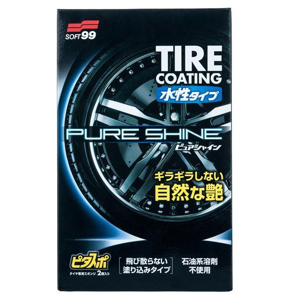 SOFT99 Water-Based PURE SHINE ochrana pneu 100 ml - zvìtšit obrázek