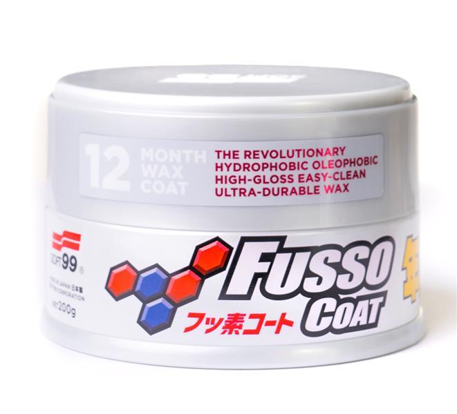 SOFT99 New Fusso Coat 12 Months vosk svìtlý 200 g - zvìtšit obrázek
